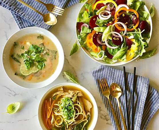 Salad and soup class
