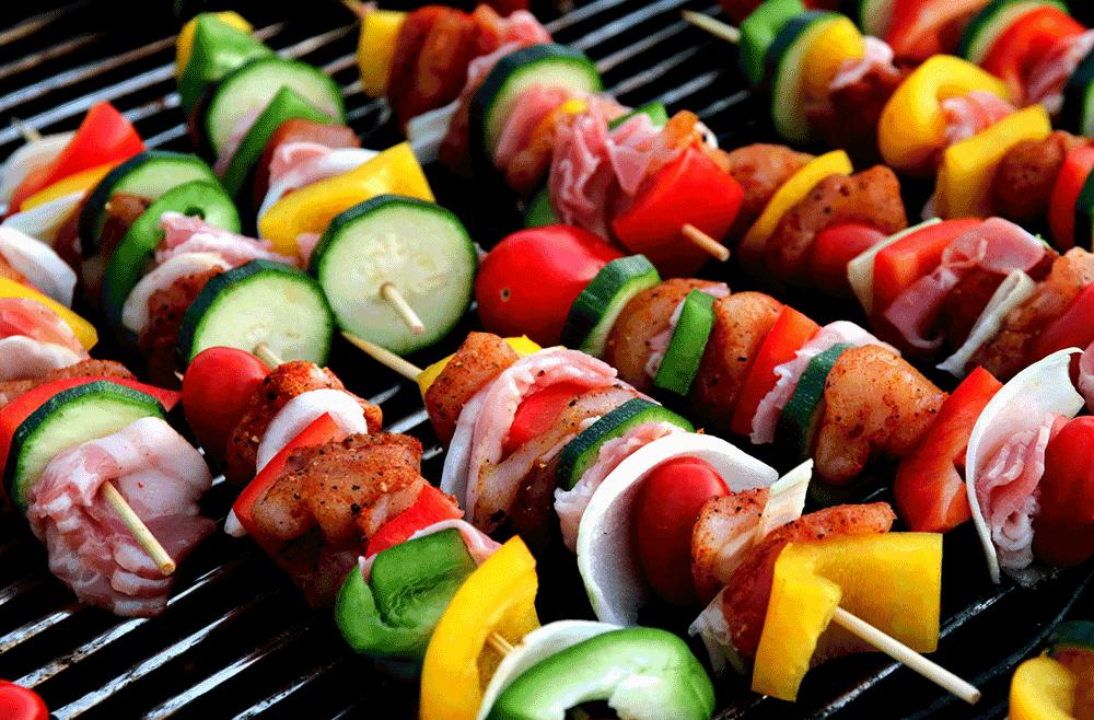 Veg kebab and Tikka